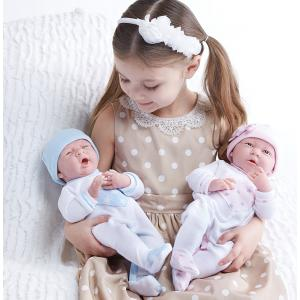 Berenguer - 18055 - Poupon Newborn nouveau né sexué fille pyjama manches longues rose 38 cm (320724)