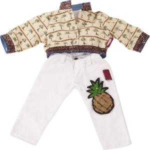 Gotz - 3402925 - Combinaison, pineapple punch, 3 pièces pour poupées de 45-50cm (371856)