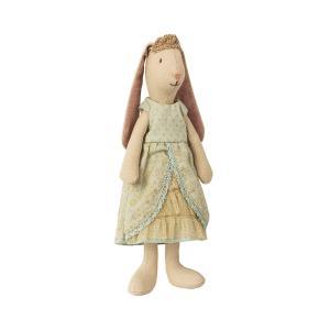 Maileg - 16-8121-01 - Mini bunny princess - Mint (391894)