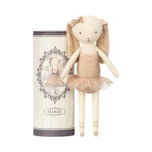 Maileg - 16-8600-00 - Dancing ballerina bunny in tube (391916)