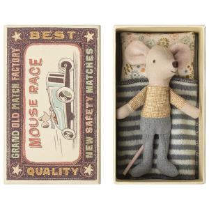 Maileg - 16-8725-01 - Little brother mouse in box (391942)