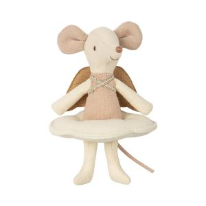 Maileg - 16-8738-01 - Angel mouse, big sister in book - Taille 12 cm - de 0 à 36 mois (391964)