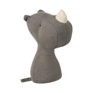 Maileg - 16-8911-00 - Hochet Rhino, Noah's Friends, taille : H : 12 cm  (392002)