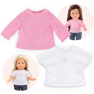 Corolle - 9000210130 - Vêtement pour poupées Ma Corolle 2 t-shirts - taille 36 CM (398866)