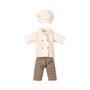 Maileg - 16-9745-02 - Chef clothes for mouse - à partir de 36 mois (406538)
