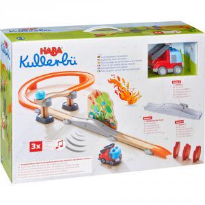 Haba - 304830 - Kullerbü – Circuit de jeu sonore Alarme incendie (407532)