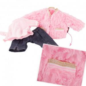 Gotz - 3403021 - Ensemble bébé, Furry Pink (408400)