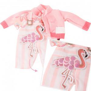 Gotz - 3403022 - Ensemble bébé, Pretty Flamingo pour bébés de 30-33cm (408402)