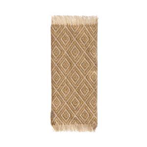 Maileg - 11-9402-01 - Miniature rug, 22 x 9 cm. - Mustard - Taille 24 cm - à partir de 36 mois (414416)