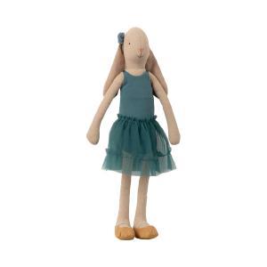 Maileg - 16-9304-00 - Bunny size 3, Ballerina - Petrol - Taille : 42 cm (414682)