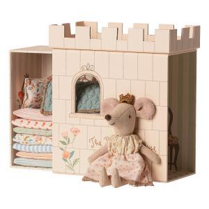 Maileg - 16-9733-01 - Princess on the pea, Big sister mouse - Taille 17 cm - de 0 à 36 mois (414722)