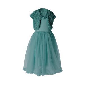 Maileg - 21-9200-01 - Ballerina dress, 2-3 years - Petrol - Taille 44 cm - à partir de 24 mois (414796)