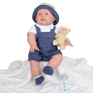 Berenguer - 18905 - Poupon Newborn nouveau né  sexué garçon avec accessoires thème vache (415246)