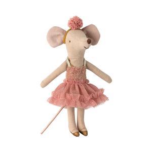 Maileg - 16-0604-00 - Dance mouse, Big sister - Mira Belle - Taille 13 cm - à partir de 36 mois (421600)