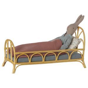 Maileg - 11-0008-00 - Bed rattan, Medium  - à partir de 36 mois (421620)