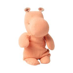 Maileg - 16-0920-00 - Safari friends, Small Hippo - Apricot - Taille 22 cm - de 0 à 36 mois (421674)