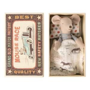 Maileg - 16-0723-01 - Little brother mouse in matchbox - Taille 10 cm - de 0 à 36 mois (421764)