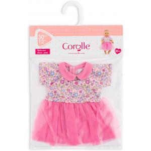 Corolle - 110340 - Bébé 30 cm robe rose pays des rêves - age 18M+ (430414)