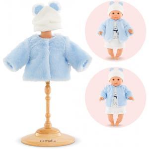 Corolle - 9000110430 - Vêtements pour bébé Corolle 30 cm -  manteau hiver polaire (430420)