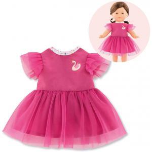 Corolle - 9000211300 - Vêtement pour poupées Ma Corolle robe cygnes de tendresse - taille 36 CM (430524)