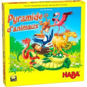 Haba - 305521 - Pyramide d'animaux – Jeu d'empilement et d'équilibre (430998)