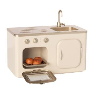 Maileg - 11-0101-00 - Cuisine miniature, taille : H : 11 cm - L : 19 cm - l : 10 cm (455094)