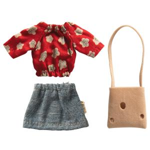 Maileg - 16-0744-02 - Mum clothes for mouse (455362)