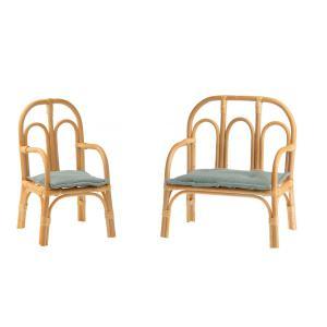 Maileg - BU049 - Set chaise et banc pour poupée (456348)