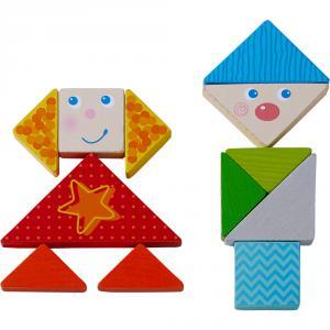 Haba - 305777 - Jeu d'assemblage Tangram-Mix multicolore (456906)