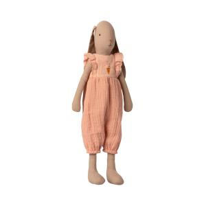 Maileg - 16-1300-00 - Bunny size 3, Jumpsuit - Rose (460926)
