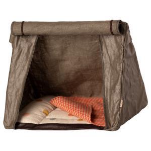 Maileg - 11-1406-00 - Tente de Camping chaleureuse pour Souris, taille : H : 19 cm - L : 22 cm - l : 15 cm (460930)