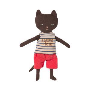 Maileg - 16-1900-00 - Peluche chat sauveteur dans son phare, taille : H : 23 cm  (460932)