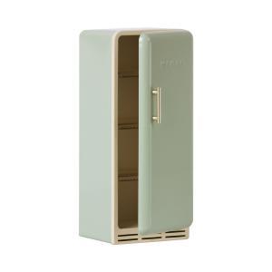 Maileg - 11-1106-01 - Réfrigérateur miniature - menthe, taille : H : 22 cm - L : 9 cm - l : 9 cm (460938)