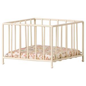 Maileg - 11-1101-00 - Parc bébé miniature, My, taille : H : 7,5 cm - L : 10 cm - l : 10 cm (461038)