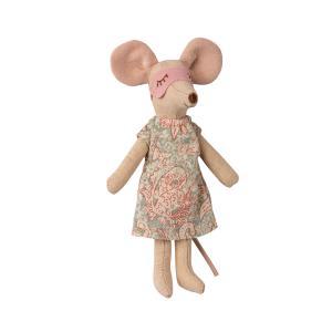 Maileg - 16-1740-02 - Robe de chambre pour Maman souris, taille : H : 1,5 cm - L : 7 cm - l : 7 cm (461104)
