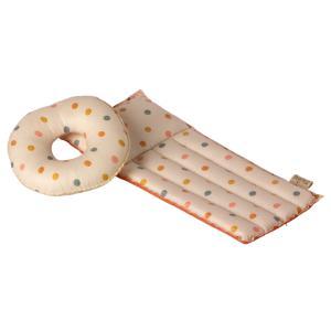 Maileg - 11-1401-02 - Air mattress, Mouse - Multi dot (461128)