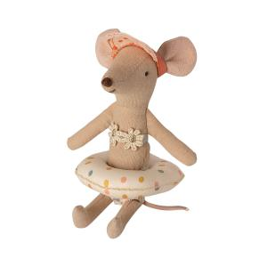 Maileg - 11-1402-02 - Float, Small mouse - Multi dot (461144)