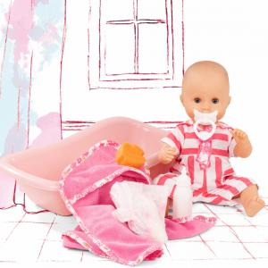 Gotz - 2153143 - Poupée 33 cm Sleepy Aquini girl, Stripe Vipes (463388)