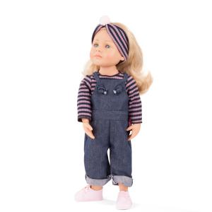 Gotz - 2011019 - Poupée 50 cm Lotta, cheveux blonds, yeux bleus (463416)