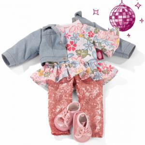Gotz - 3403265 - Robe, Dots Happiness pour poupées de 50cm (463454)