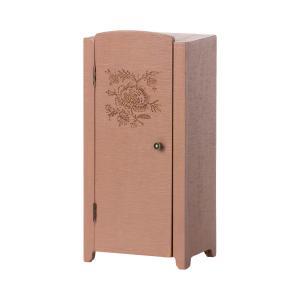 Maileg - 11-1009-02 - Armoire miniature - Dusty Rose, taille : H : 23 cm - L : 11 cm - l : 8 cm (471966)
