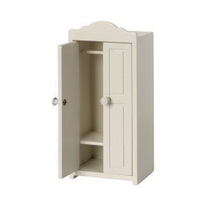 Maileg - 11-1015-00 - Armoire en bois, Souris, taille : H : 16 cm - L : 7,5 cm - l : 4,5 cm (471970)