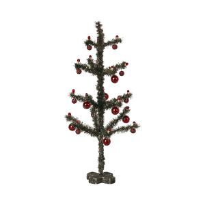 Maileg - 14-1180-00 - Sapin de Noël - Argent vieilli, taille : H : 23 cm - L : 12 cm  (472044)