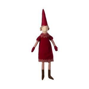 Maileg - 14-1483-00 - La femme du père Noël, petite, taille : H : 84 cm  (472072)