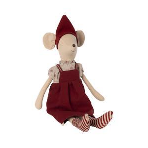 Maileg - 14-1702-00 - Souris de Noël, Moyenne - Fille, taille : H : 37 cm  (472088)