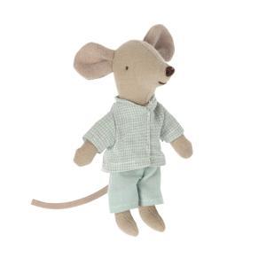 Maileg - 16-1727-02 - Pyjama pour petit frère souris, taille : H : 8,5 cm  (472132)