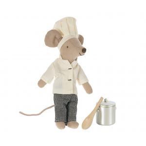 Maileg - 16-1782-02 - Vêtements de chef pour souris, taille : H : 9 cm  (472150)