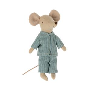 Maileg - 16-1783-02 - Pyjama pour grand frère souris, taille : H : 11 cm  (472152)