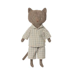 Maileg - 16-1902-00 - Chatons, Chaton - Gris, taille : H : 24 cm  (472174)
