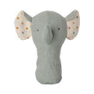 Maileg - 16-1913-00 - Amis berceuse, Hochet éléphant, taille : H : 13 cm  (472194)